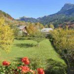 Шале с очень красивыми видами на горы в г. Бернекс (Эвиан)